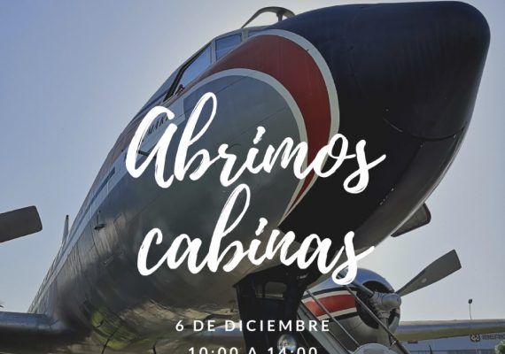 Entrada gratis a cabinas de aviones del Museo Aeronáutico de Málaga el 6 de diciembre