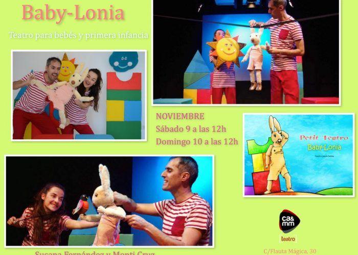 Espectáculo de marionetas para bebés y niños en CAMM Teatro