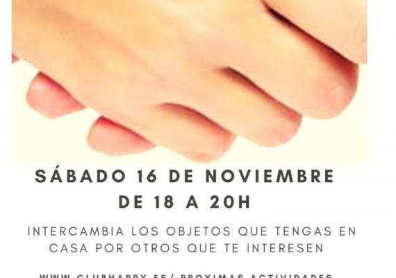 Happy Mercado de Trueque llega a Club Happy Málaga el 16 de noviembre