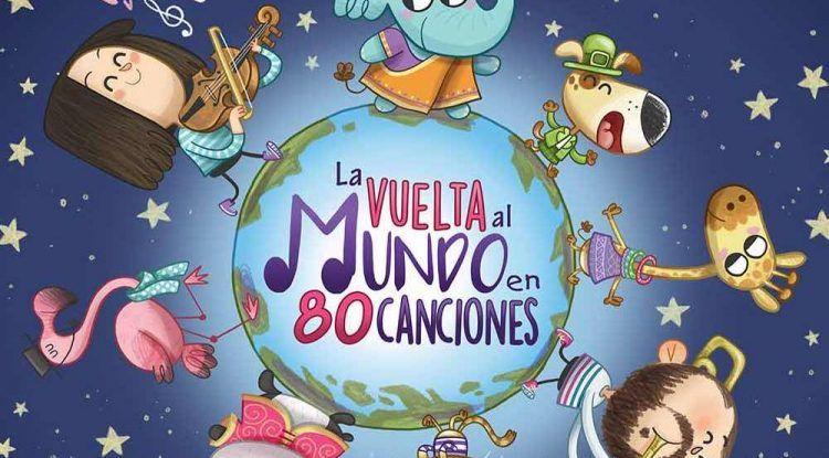 'La vuelta al mundo en 80 canciones', el nuevo disco de música para niños de la mano de Ba-Ba Educación Musical Infantil
