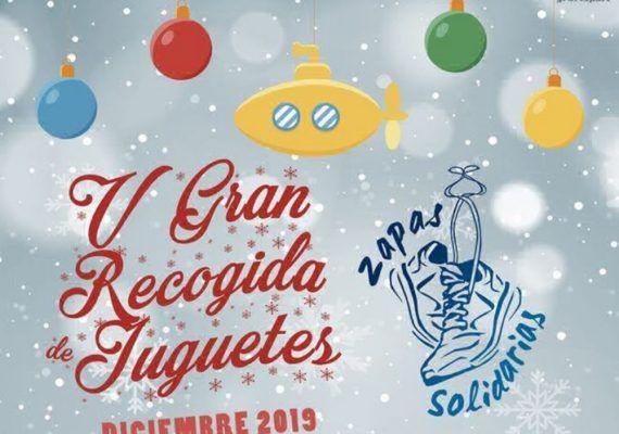 Gran Recogida de Juguetes con la asociación Zapas Solidarias en Málaga
