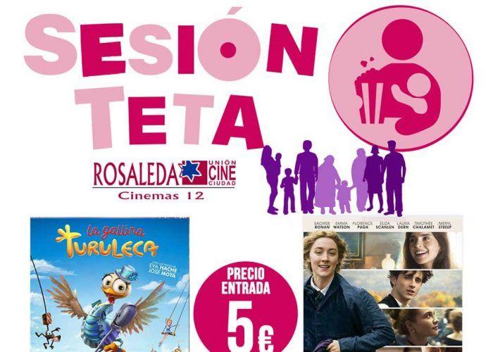 Películas para toda la familia con la Sesión Teta en Multicines Rosaleda (Málaga)