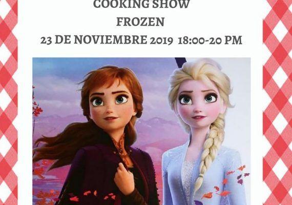Taller de cocina para niños sobre 'Frozen' en Club Happy Málaga