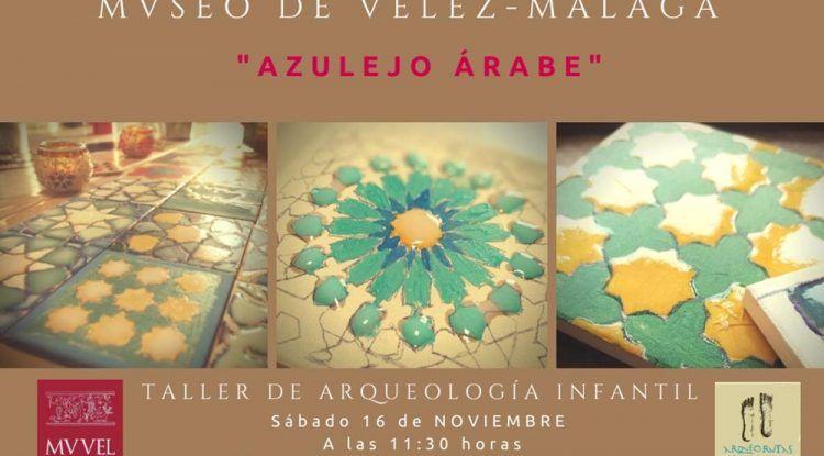 Taller gratis de arqueología infantil el sábado 16 de noviembre en Vélez-Málaga con ArqueoRutas