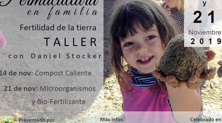Taller gratis para toda la familia sobre la fertilidad de la tierra en Almayate (Málaga)
