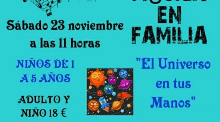 Taller de educación musical para toda la familia en Málaga