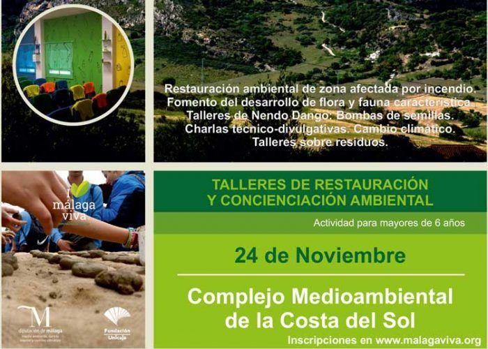 Talleres gratis de restauración y concienciación ambiental en Casares con la Diputación de Málaga