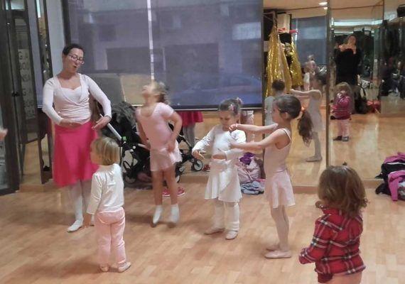 Taller de baile todos los sábados en la escuela de ballet ruso Caterina Grudtsina en Málaga