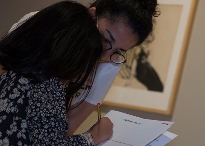 Talleres en familia en el Museo Thyssen de Málaga sobre el cercano oriente