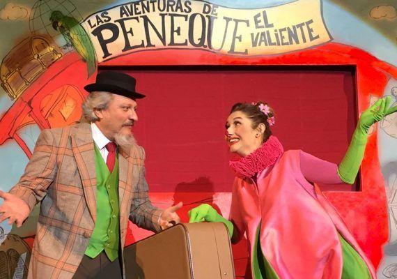Teatro de marionetas para niños con Peneque en el Teatro Cervantes de Málaga