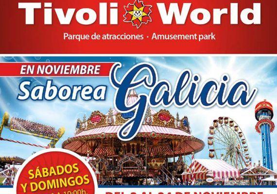 Últimos fines de semana de noviembre para disfrutar de Tivoli World
