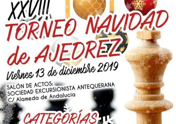 Torneo gratis de ajedrez para niños en Antequera (Málaga)