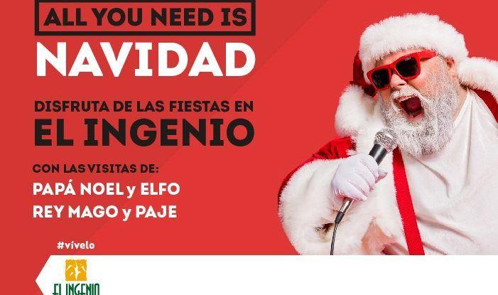 Actividades para niños gratis en Navidad en la ludoteca de El Ingenio de Vélez Málaga