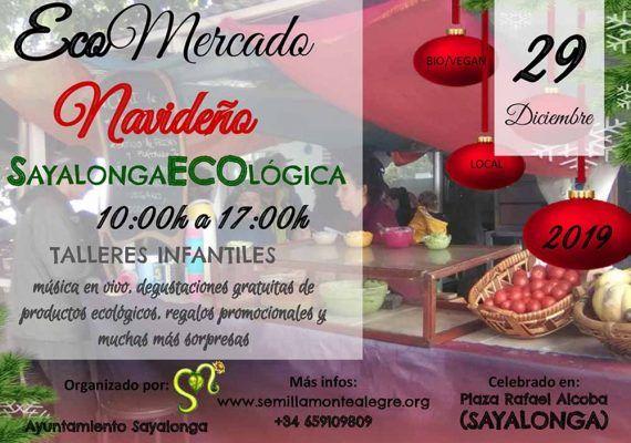 Actividades gratis para toda la familia en el Ecomercado Navideño de Sayalonga