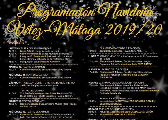 Actividades gratis en Navidad para toda la familia en Vélez-Málaga