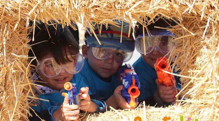 Animación, minidisco y batallas Nerf en los cumpleaños infantiles de Verdecora Málaga