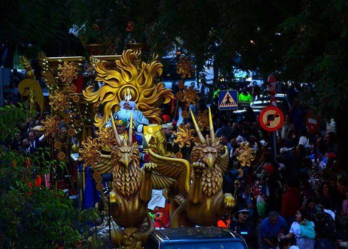 Cabalgata de Reyes Magos en Estepona