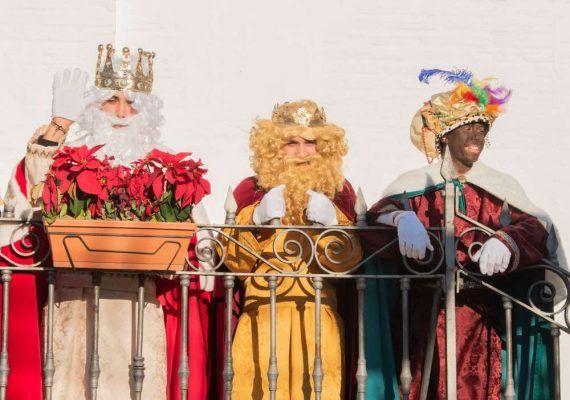 Cabalgata de Reyes Magos en Frigiliana