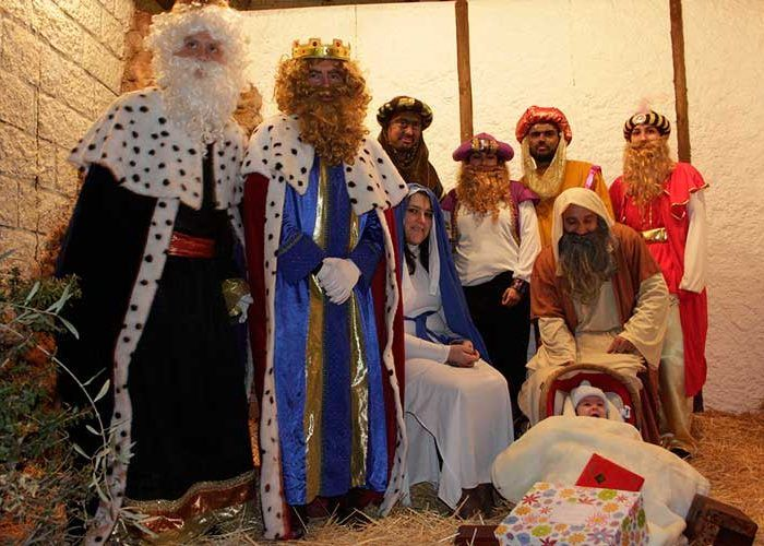 Cabalgata de Reyes Magos en Villanueva de Tapia