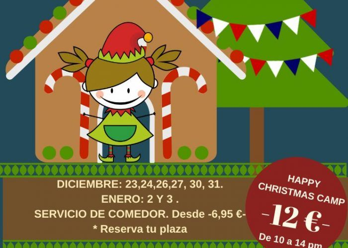 Campamento de Navidad con actividades en inglés con Club Happy Málaga