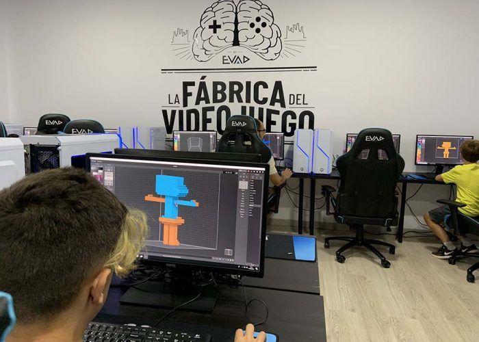 Curso de programación de videojuegos para niños con EVAD KIDS en Málaga