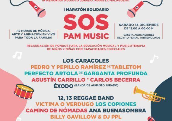 Disfruta en familia del I Maratón Solidario SOS Pam Music en Torremolinos