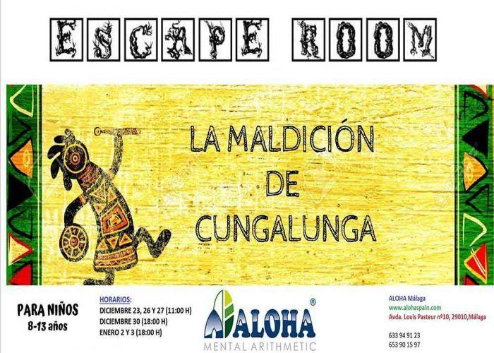 Escape Room para niños en Navidad con Aloha Mental Málaga