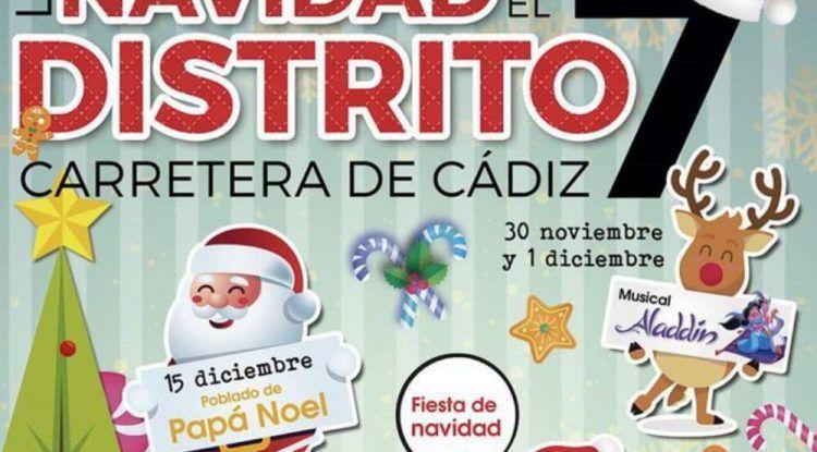 Espectáculos y actividades gratis de Navidad en Carretera de Cádiz (Málaga)