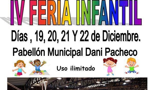 Actividades para niños de Navidad en la IV Feria Infantil de Pizarra