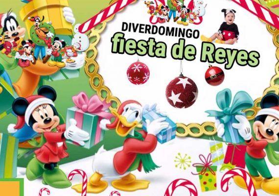 Fiesta de Reyes con Mickey para niños en Las Pedrizas (Málaga)