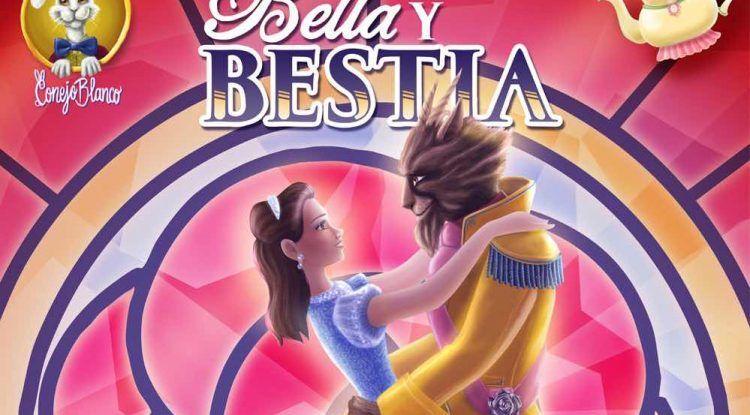 Espectáculo infantil 'Bella y Bestia' en el Teatro ESAD de Málaga