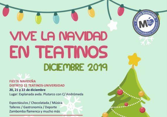 Actividades gratis para niños en Navidad en Teatinos