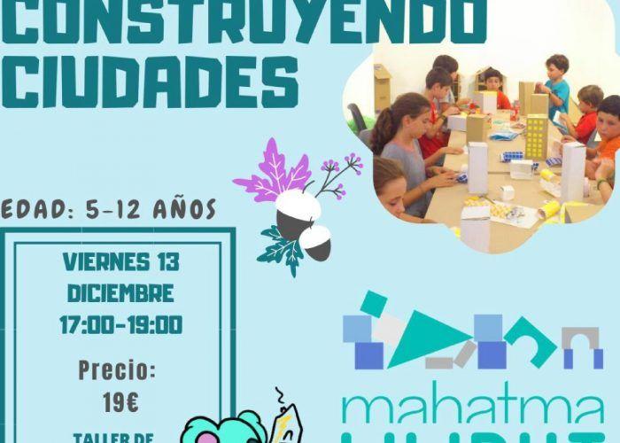 Taller de arquitectura para niños en el Rincón de la Victoria (Málaga)