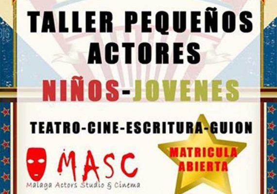 Taller de cine para niños con MASC Escuela de Cine en Málaga
