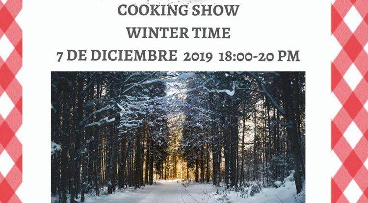 Taller de cocina para niños con recetas de invierno en Club Happy Málaga