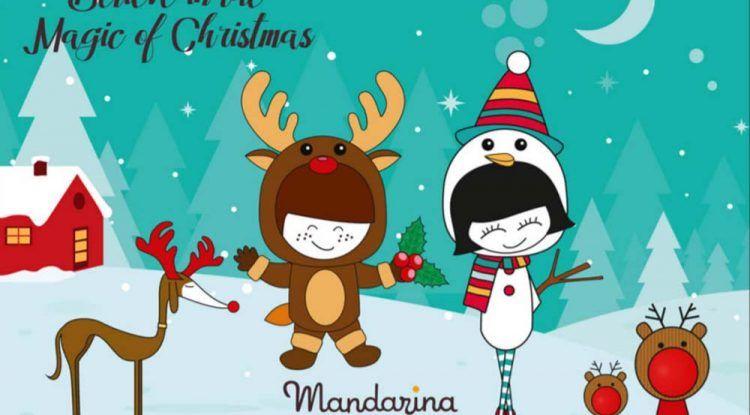 Talleres y campamento de Navidad para niños en Mandarina Garden Málaga