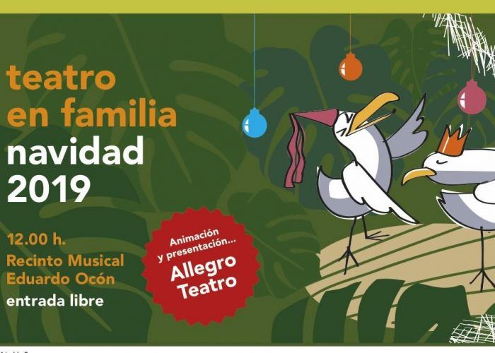 Teatro gratis para toda la familia en Navidad en el Paseo del Parque de Málaga