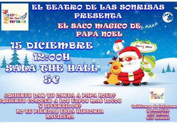 Teatro 'El saco mágico de Papá Noel' con el Teatro de las Sonrisas en Navidad