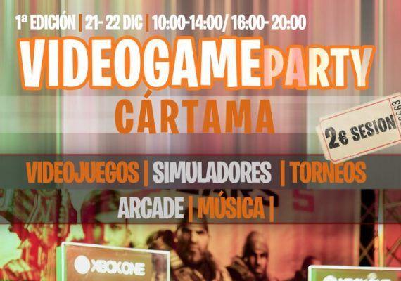 Fiesta de videojuegos para niños de Navidad en Cártama (Málaga)