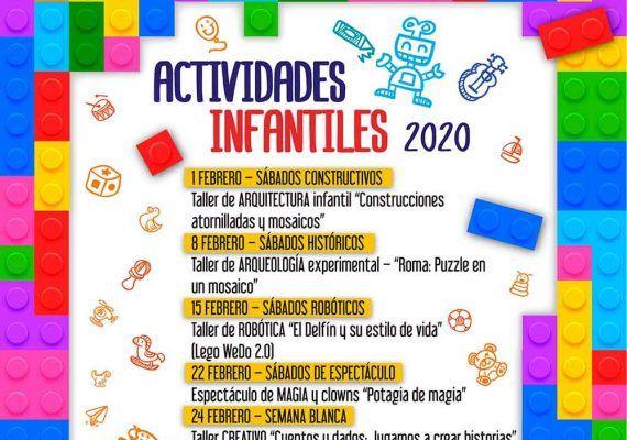 Talleres y espectáculos gratis para niños los sábados y en Semana Blanca en CC Rincón de la Victoria