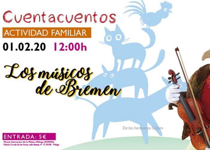 Actividades infantiles este mes de febrero en el MIMMA Málaga