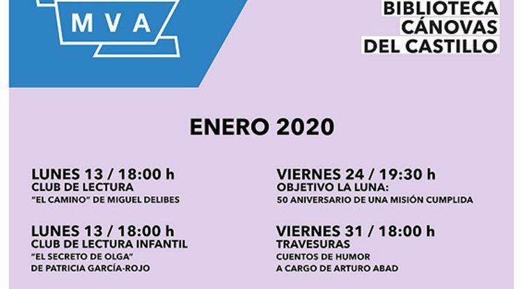 Actividades gratis para niños este enero en la Biblioteca Cánovas del Castillo de Málaga