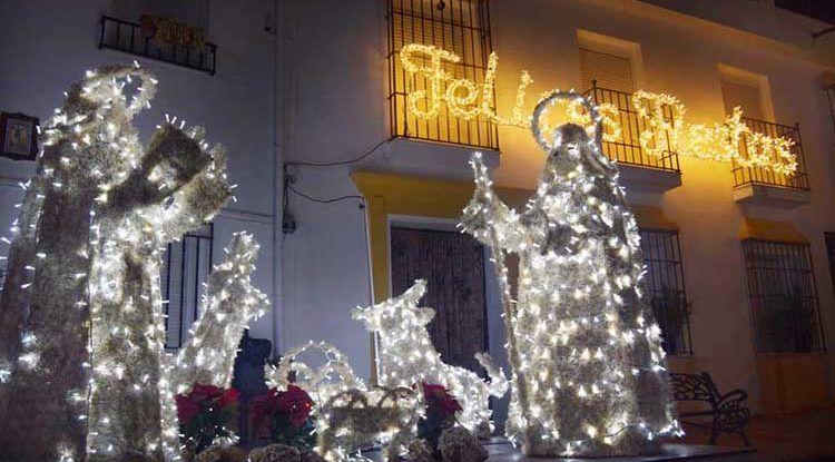 Cabalgata de Reyes Magos en Alfarnatejo
