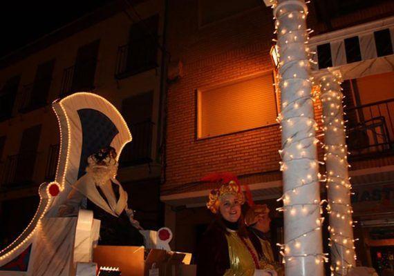 Cabalgata de Reyes Magos en Archidona 2020