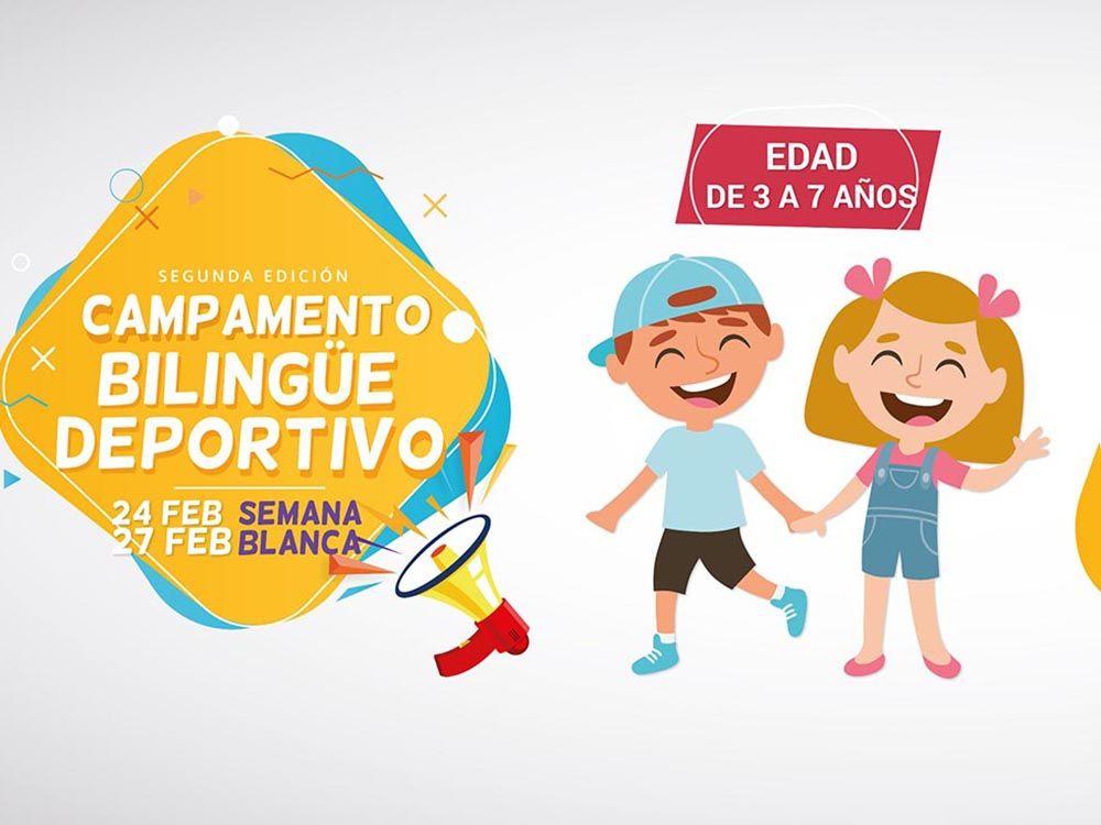 Campamento bilingüe deportivo de Semana…