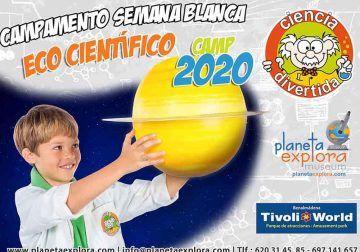 Campamento científico de Semana Blanca para niños en Planeta Explota (Benalmádena)