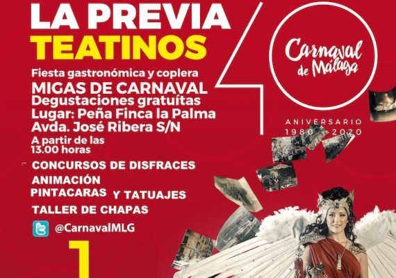 Actividades gratis para niños en la previa de Carnaval en el distrito de Teatinos