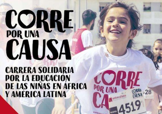 Carrera solidaria por la educación de las niñas en África y América Latina el 2 de febrero en Málaga
