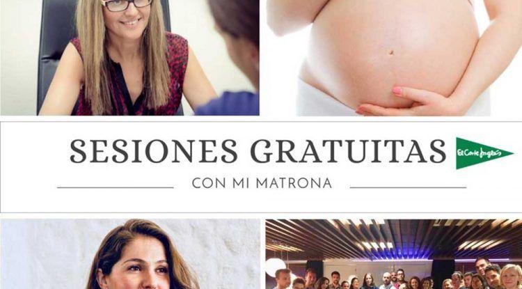 Charla gratis sobre el preparto para embarazadas en El Corte Inglés de Mijas y Málaga