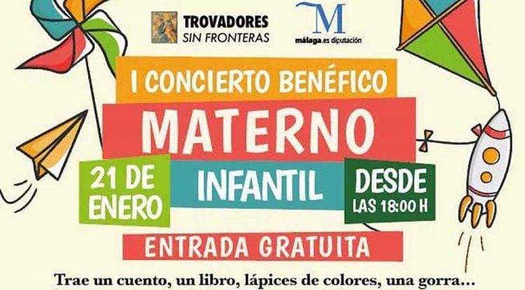 Concierto benéfico a favor de los niños del Materno Infantil en Málaga